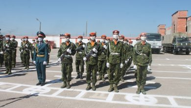 Photo of Новобранцы КЧС в Согде приняли присягу
