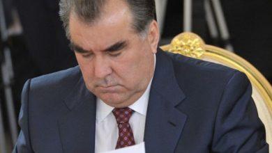 Photo of Эмомали Рахмон подписал десять новых законов Таджикистана